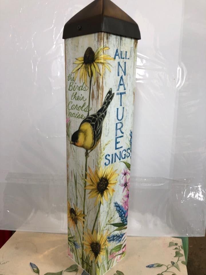 "Sunflower Sings $57.95 | 20""L"