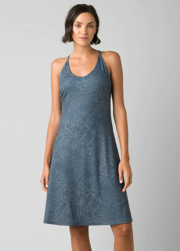 Prana Opal Dress Chalkboard $89.00