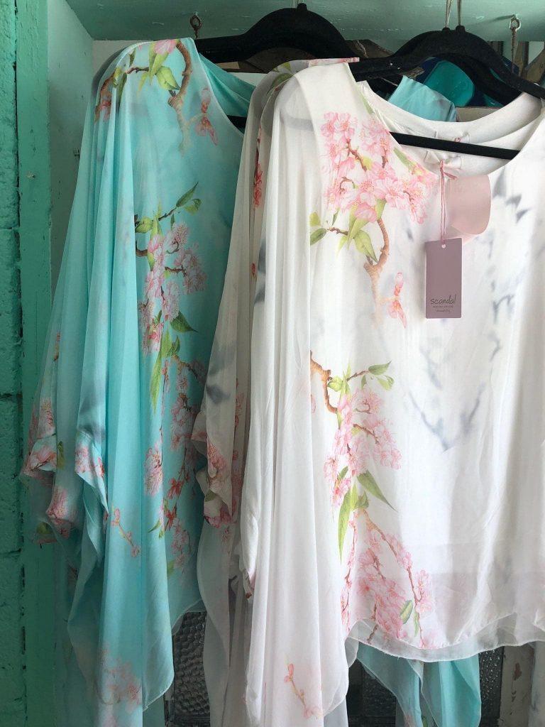 The Blossom Silk Top $102.00